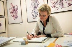Elena Timtschenko bei der ArtThuer 2018