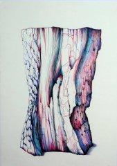 Ohne Titel/Untitled. Kugelschreiberzeichnung/Ballpoint Pen Drawing 2003. A3